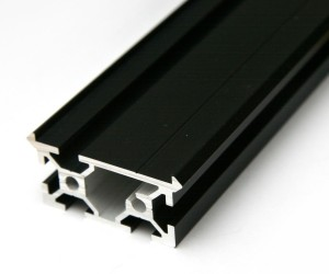 Hardcoad Black Anodized MakerSlide