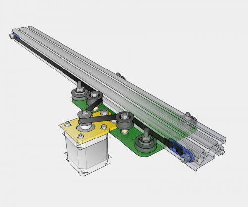 MakerSlide Camera Slider, mechanical kit