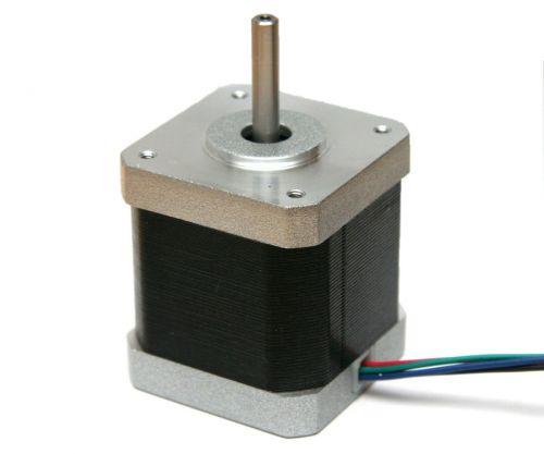 Stepper motor, NEMA17, 0.9° per step, 1.7 A, 4200 g·cm
