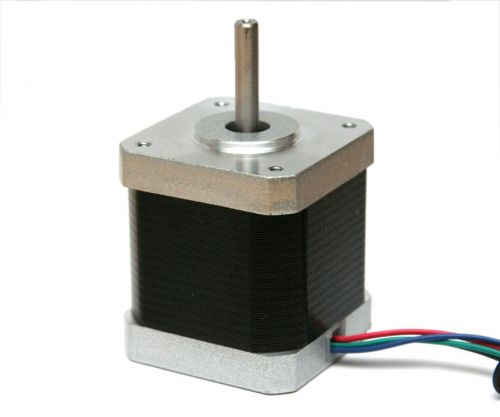 Stepper motor, NEMA17, 1.8° per step, 2.5 A, 4800 g·cm