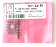 Stepper driver module, Pololu A4988 black edition