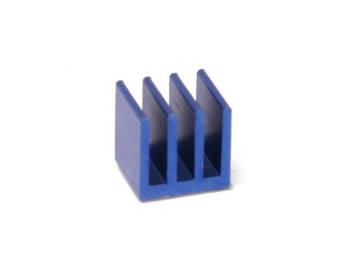Heatsink, aluminium, for stepper driver