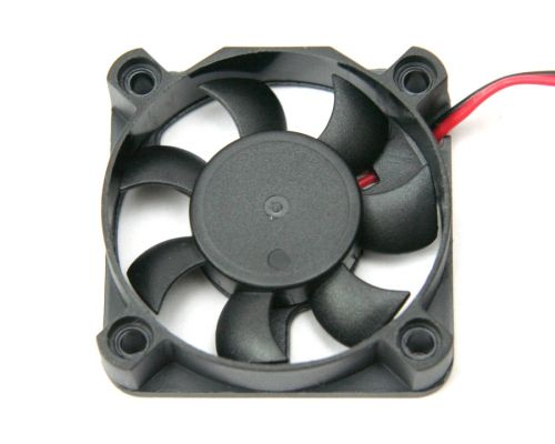 Fan, 12V DC brushless, 50mm
