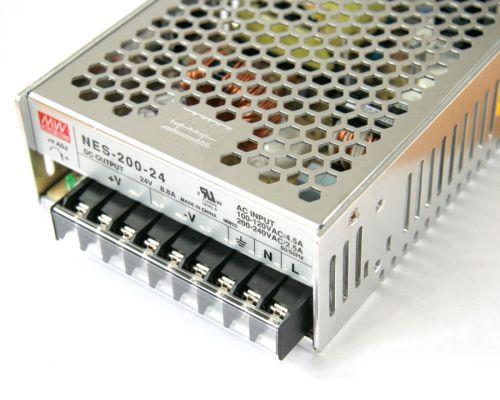 Power supply, 24V 8.3A (200W)