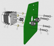 Hardware for eShapeoko belt configurations E and F