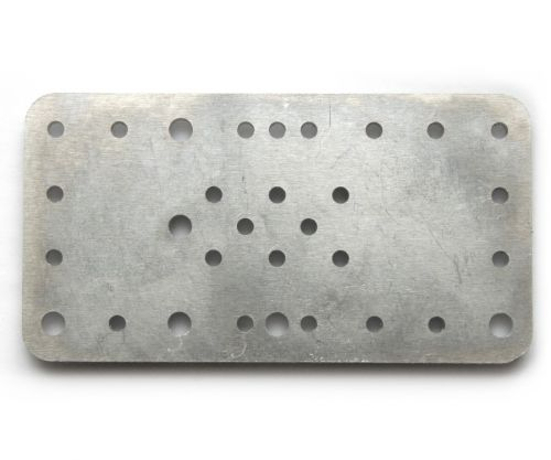 MakerSlide carriage plate for steel V-wheels