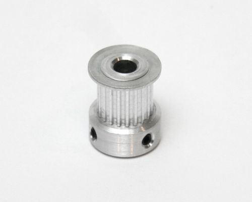 Belt pulley, 20 tooth, 5mm bore, for 9mm wide GT2 belt