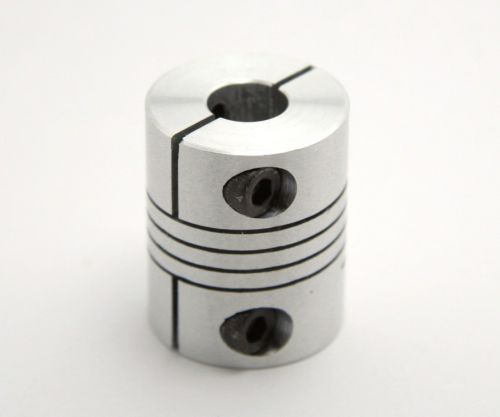 Flexible coupler, 6.35mm (1/4 inch) to 8mm