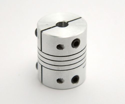 Flexible coupler, 5mm to 5mm