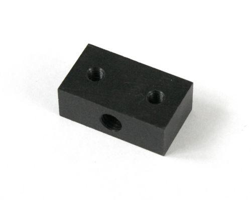 Lead nut, M8x1.25, rectangular