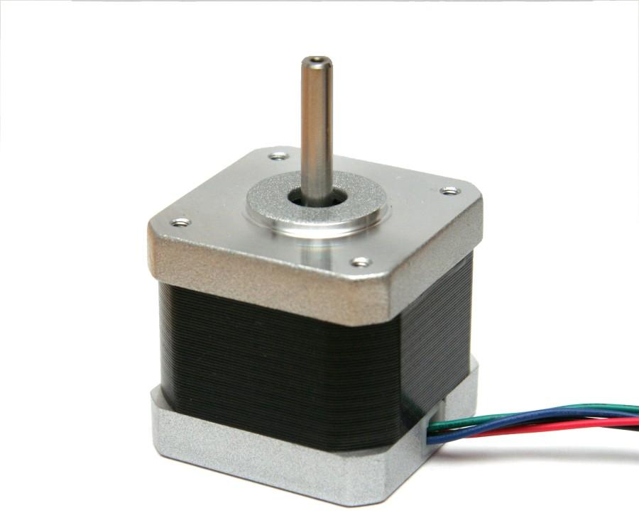 Stepper motor nema17 1 8 per step 1 7 a 4000 g cm for Nema 17 motor specs